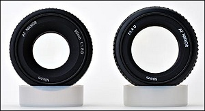 Nikon 50/1.4 vs. Nikon 50/1.8